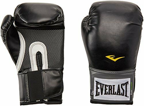 1e71a2636 NEW Everlast Pro Style Training Gloves Black 16 oz. FREE SHIPPING
