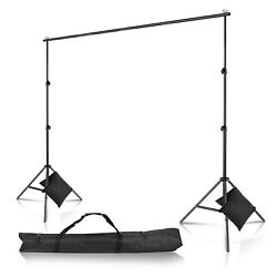 Kyпить 10Ft Heavy Duty Adjustable Photography Background Support Stand Kit With Case на еВаy.соm