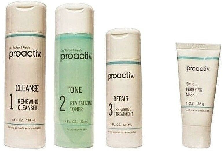 best hair mask 2020 Proactiv 4pc 60 day Kit WITH Skin Purifying Mask Proactive 2020