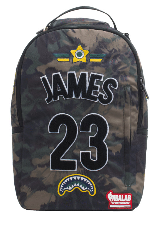7fa337df6e Details about Sprayground NBA Lab Lebron James Tie Dye Patches Book Bag  Backpack 910B1863NSZ