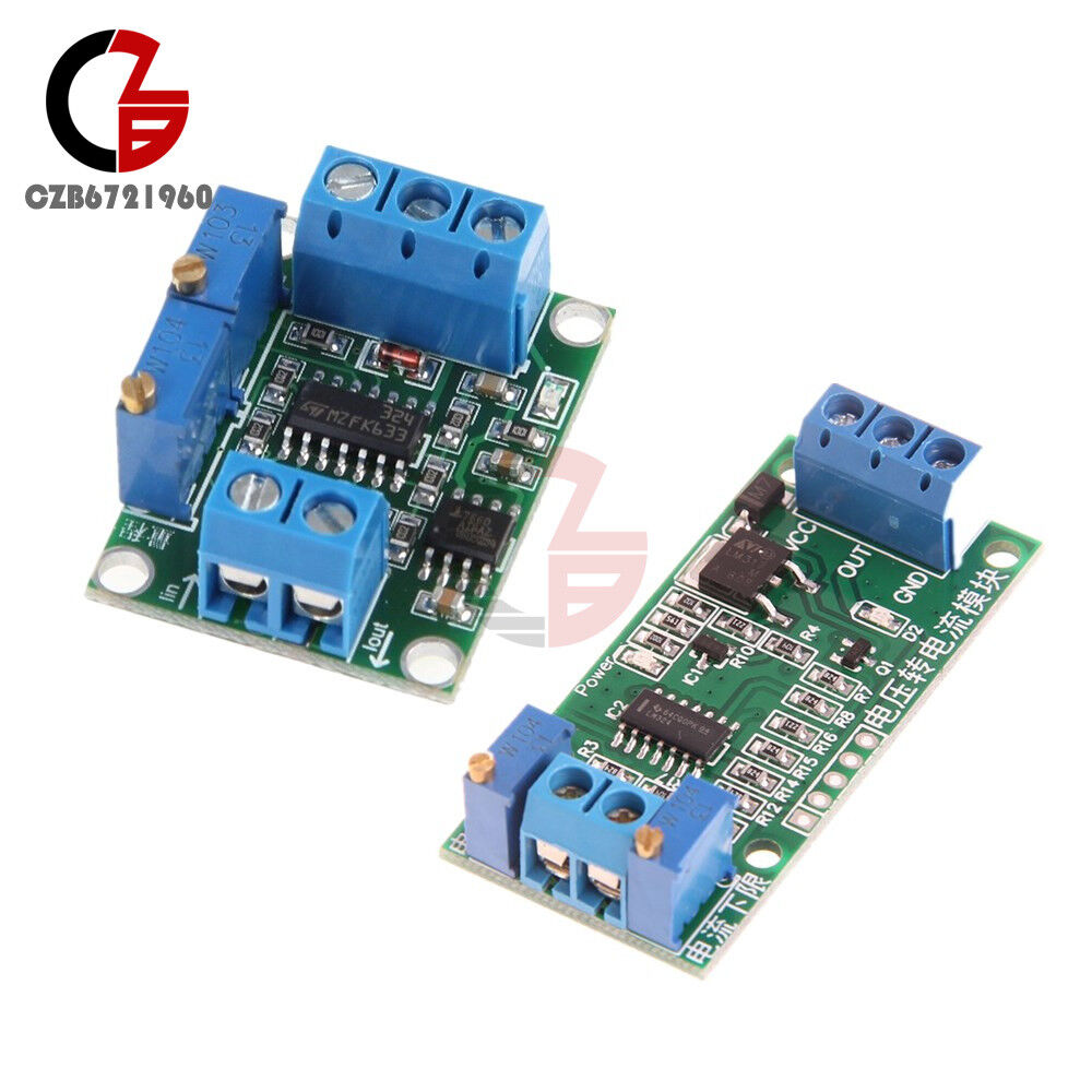 4 20ma 0 5v Voltage Current Transmitter Isolation Signal Converter Increase The Ic Lm7805 Module Ebay