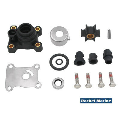 Water Pump Impeller Repair Kit for Johnson Evinrude 9.9 15 HP Outboard 394711