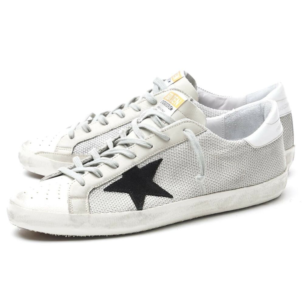f57a7ee3dffa Details about Golden Goose Deluxe Brand Superstar Sneakers Gray Code  (GCOMS590 P9) Italy Shoes