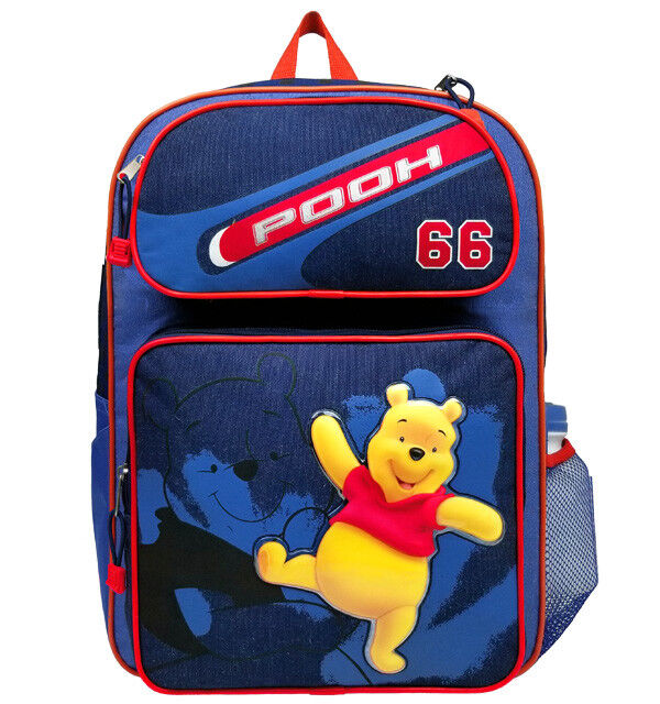 bb38150dd8a Details about Winnie the Pooh Large Backpack  School Bag for Kids Boys  Girls Disney Books