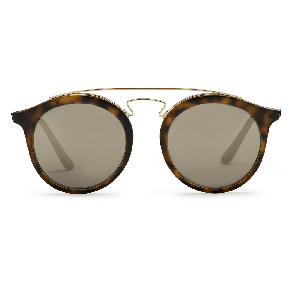 9459986028 Details about Ray-Ban RB4256 Gatsby I Sunglasses (Tortoise Brown and Gold  Gold Mirror)