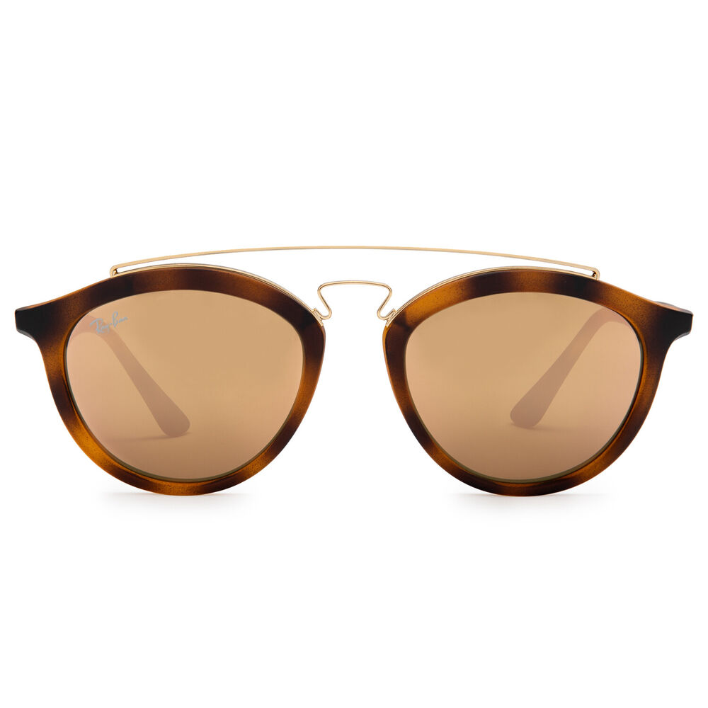 Details about Ray-Ban RB4257 Gatsby II Sunglasses (Tortoise Brown and  Gold Copper Mirror) b4002994e4