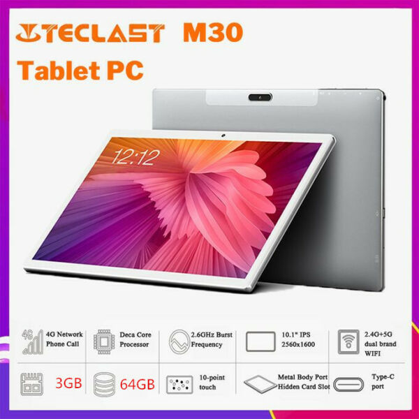 Teclast M30 Tablet Android 8.0 10.1