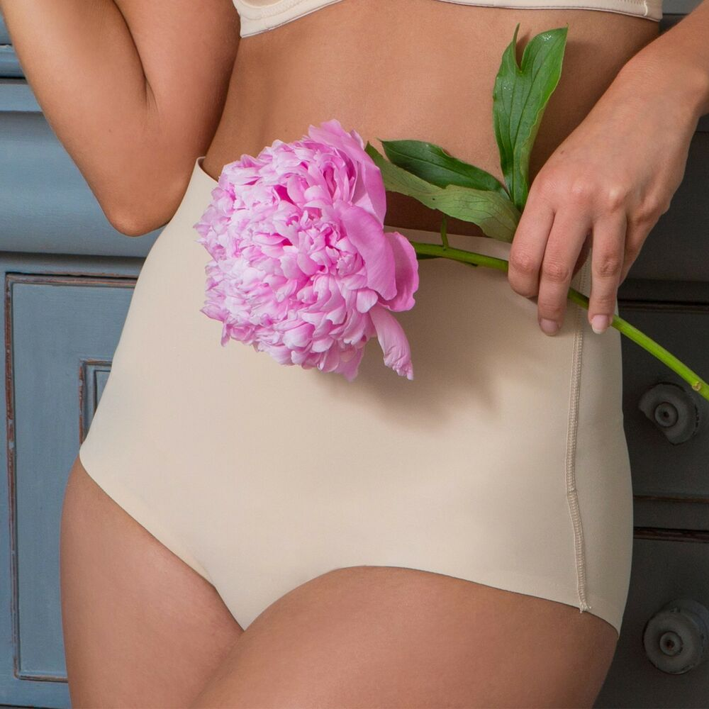 3674617fe9 Details about Pour Moi Definitions Shaping Control Thong - Natural - 96005