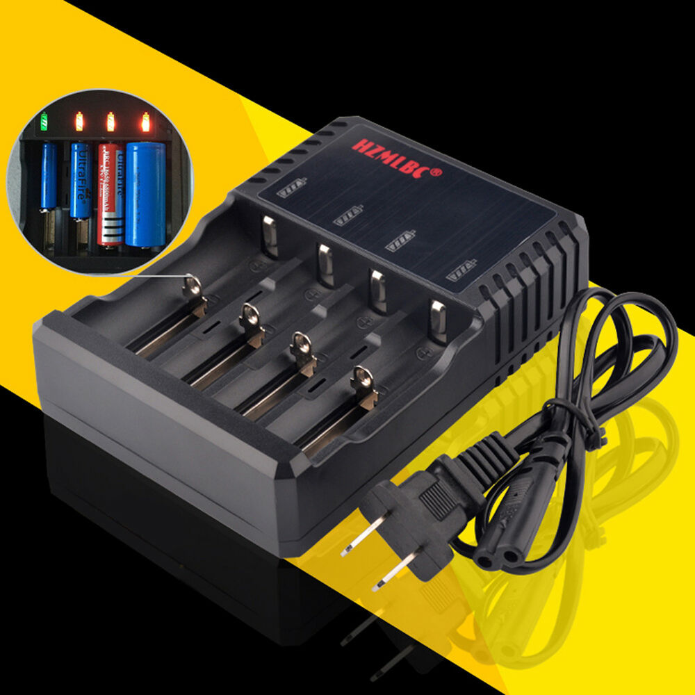 10PC Multiple Smart Battery Charger For 18650 16340 14500 Battery Free Shipping