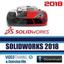 SOLIDWORKS 2018 Professional Video Training with Exercise Files Instant DOWNLOAD