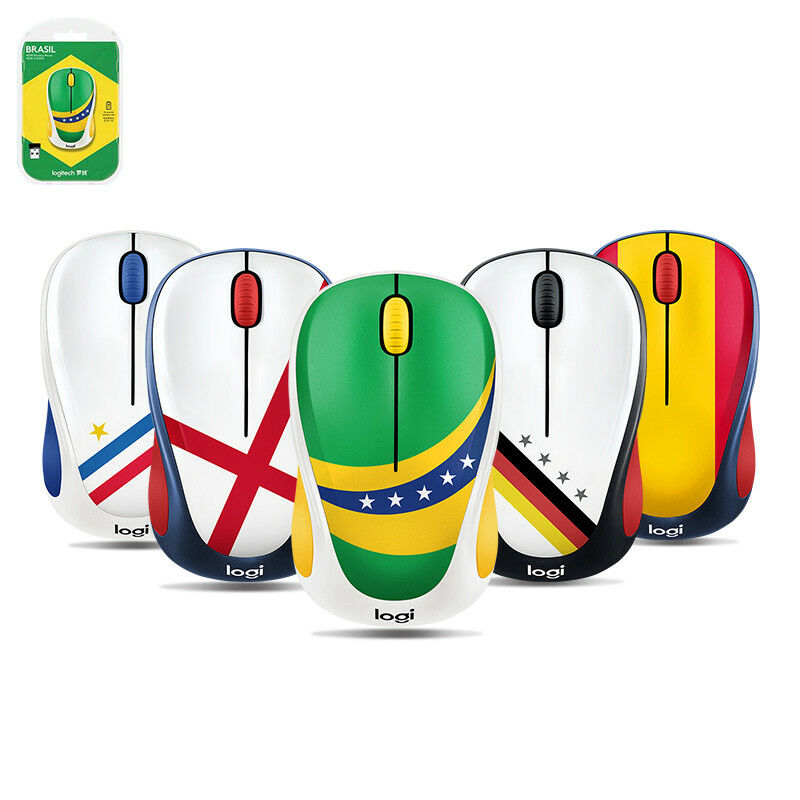 f3ea78757cd Details about Logitech M238 Wireless Mouse World Cup Global Fan Collection  Optical 1000 DPI