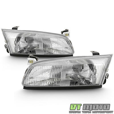 For 1997 1998 1999 Toyota Camry Headlights Headlamps Replacement Set Left+Right