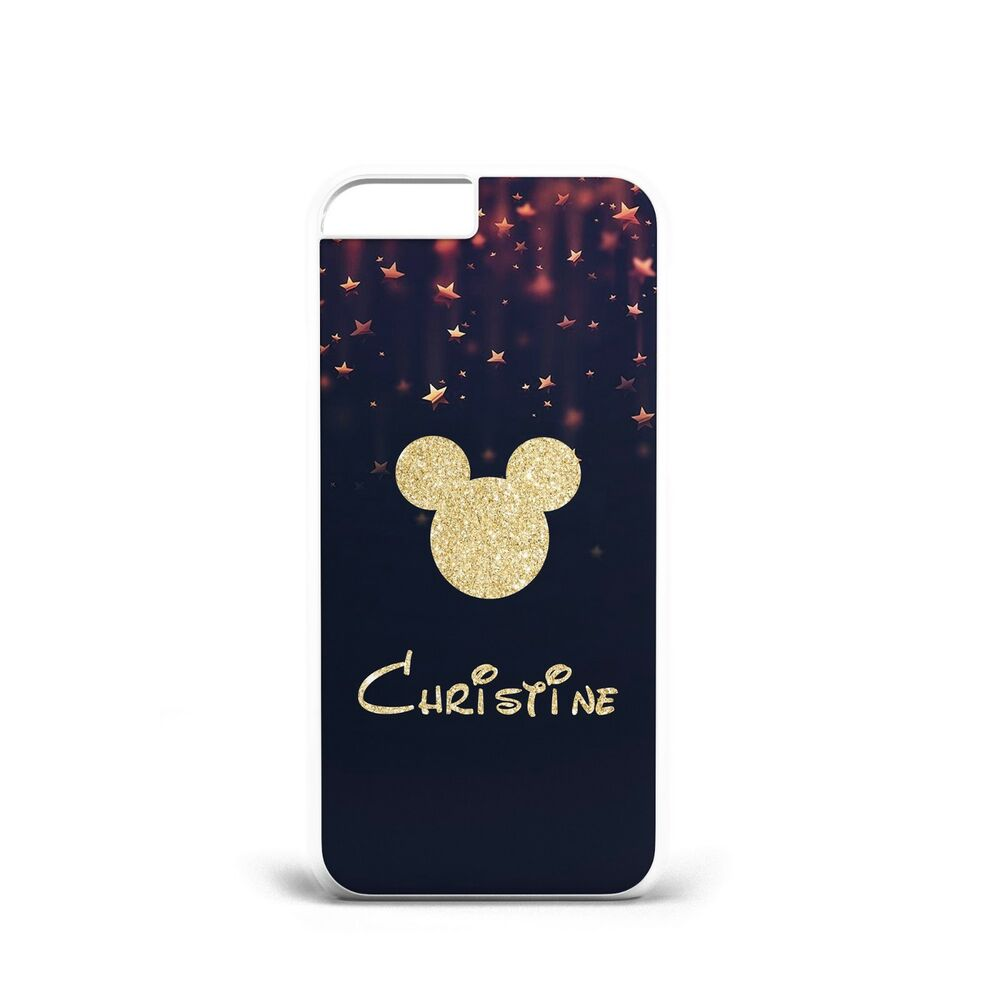 4c6720bc7d PERSONALISED DISNEY MICKY Phone Case for iPhone / SAMSUNG Fan Gift FOR HIM  HER | eBay