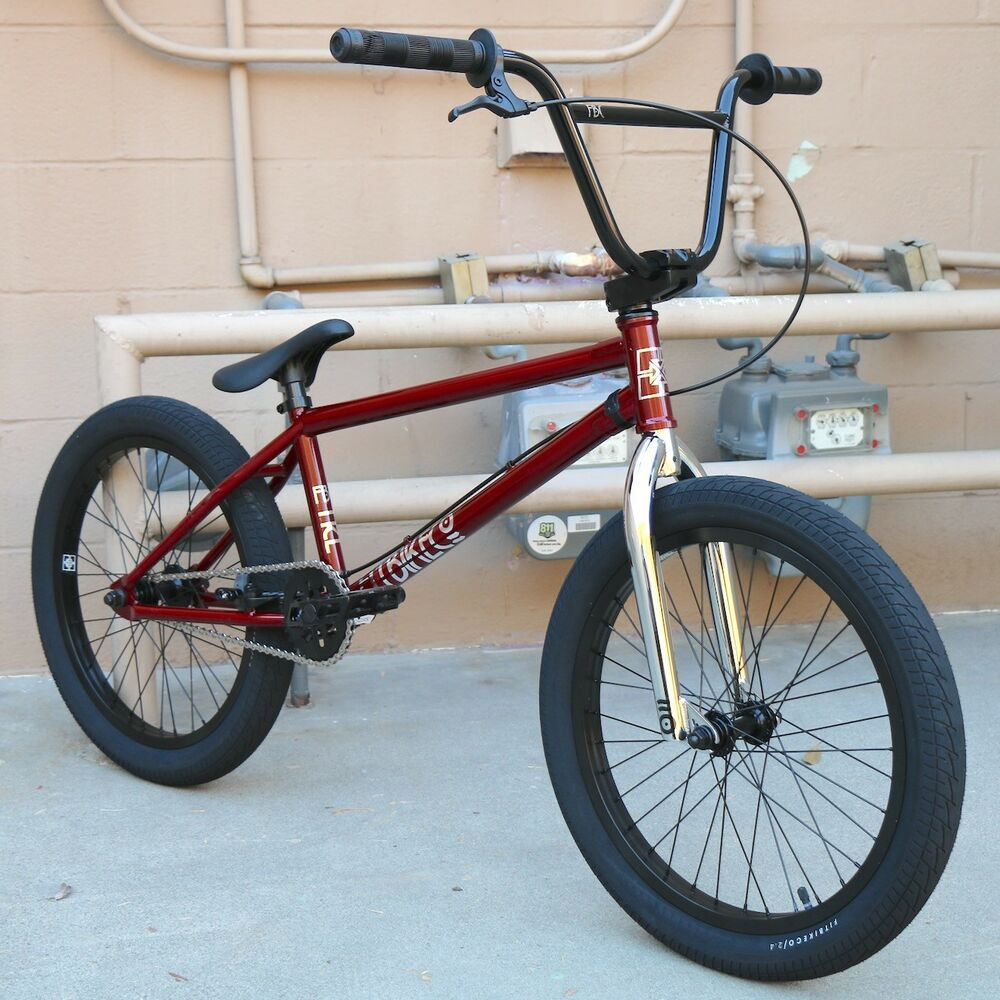 """2019 FIT BIKE CO TRL 20"""" BICYCLE BMX TRANS RED PRIMO ..."""