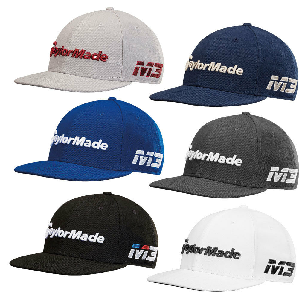Details about TaylorMade New Era 9fifty M3 Tour Golf Hat Cap 2018 - Choose  Color! a858f6b4a7b