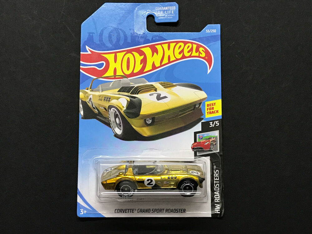 2019 hot wheels super treasure hunt corvette grand sport. Black Bedroom Furniture Sets. Home Design Ideas