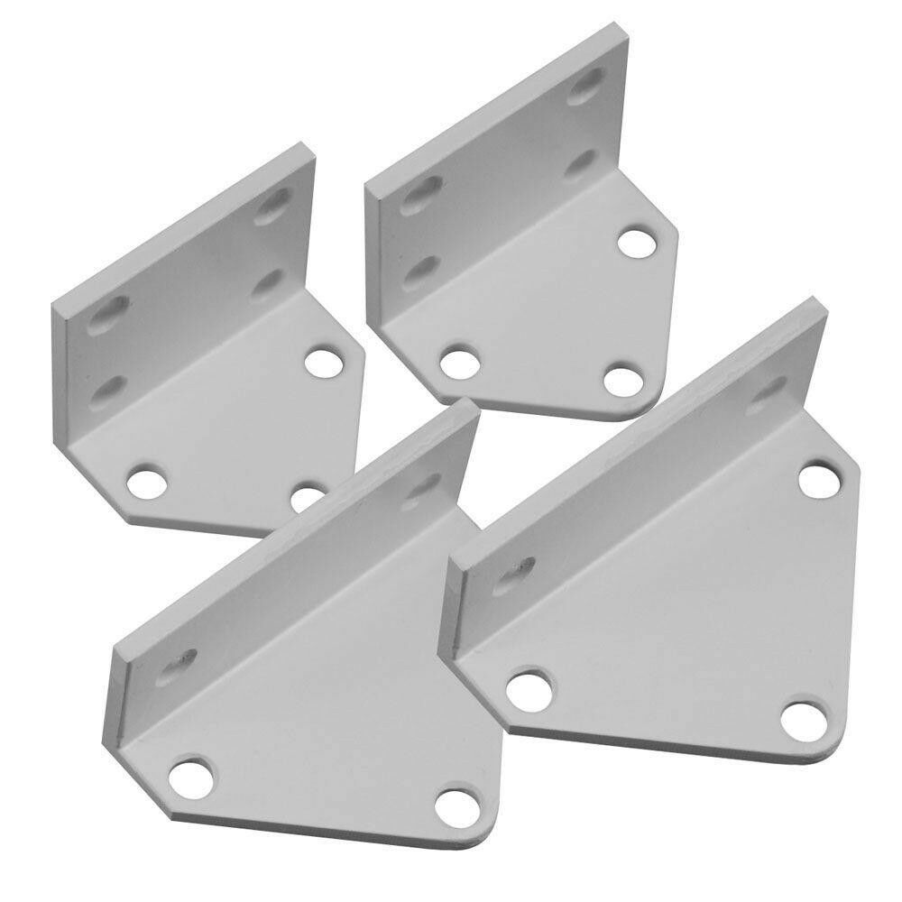 Rail Line Bracket Kit (4-Pack) Durable Aluminum Deck Porch