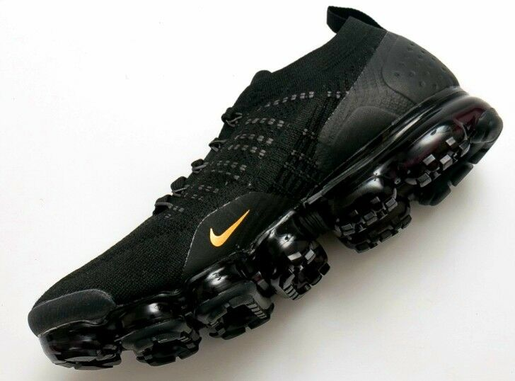 competitive price cdafa 1e347 Nike Air VaporMax Flyknit 2 In Black Gold New 2018 Model 942842-852 EUR 44.    eBay