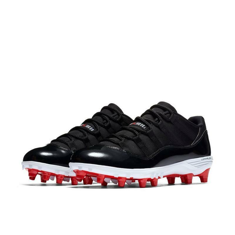 cheap for discount 42891 841fc Details about Men s New Jordan Retro 11 Low TD Football Cleats Sizes 8.5-15