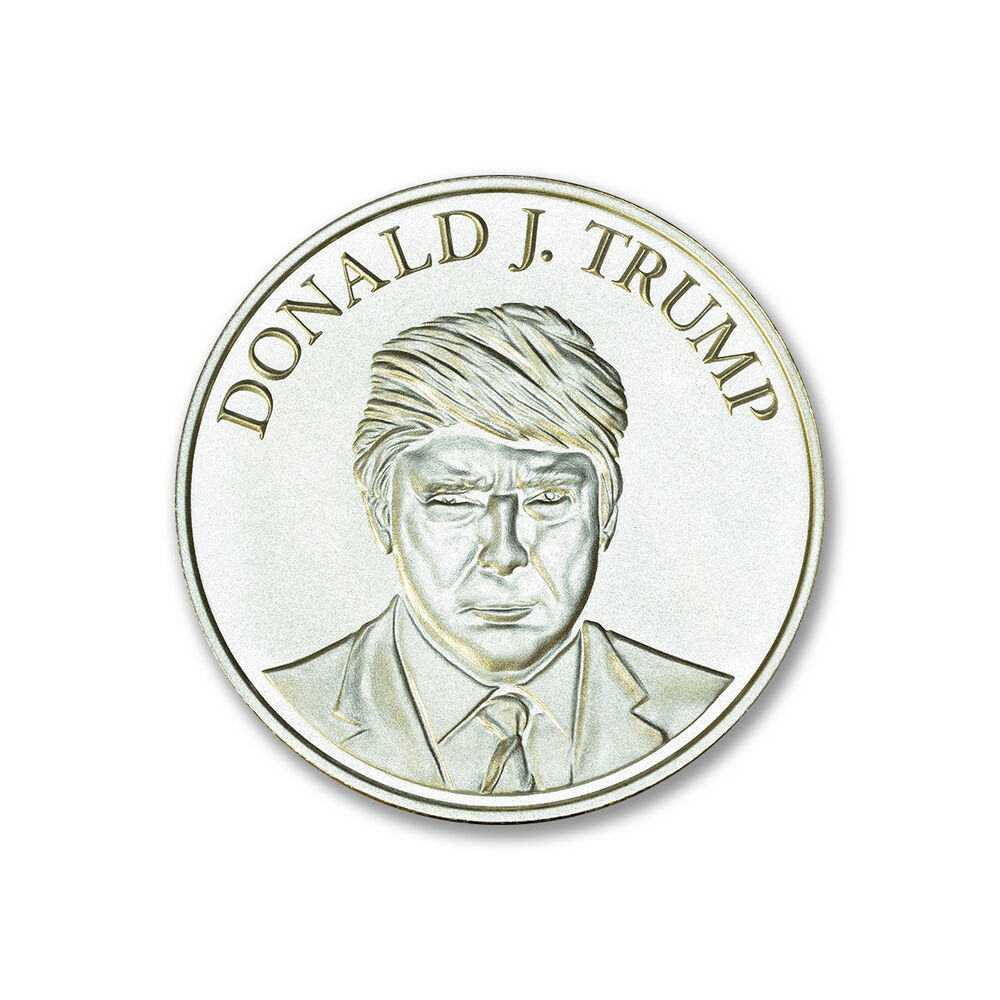 Presidential Seal Donald Trump 1 Oz 999 Silver Coin Make