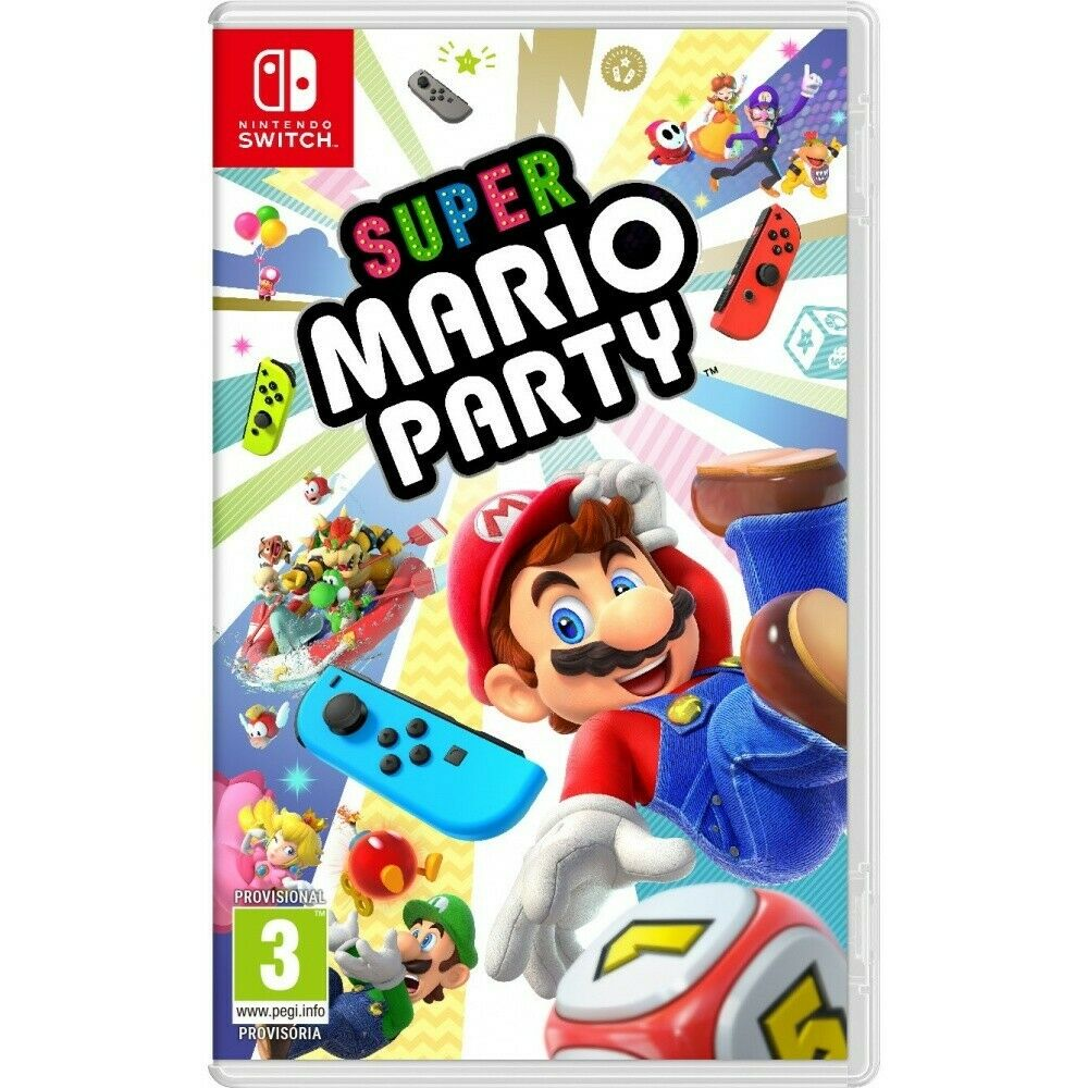 Super Mario Party Switch Juego Fisico Para Nintendo Switch Ebay