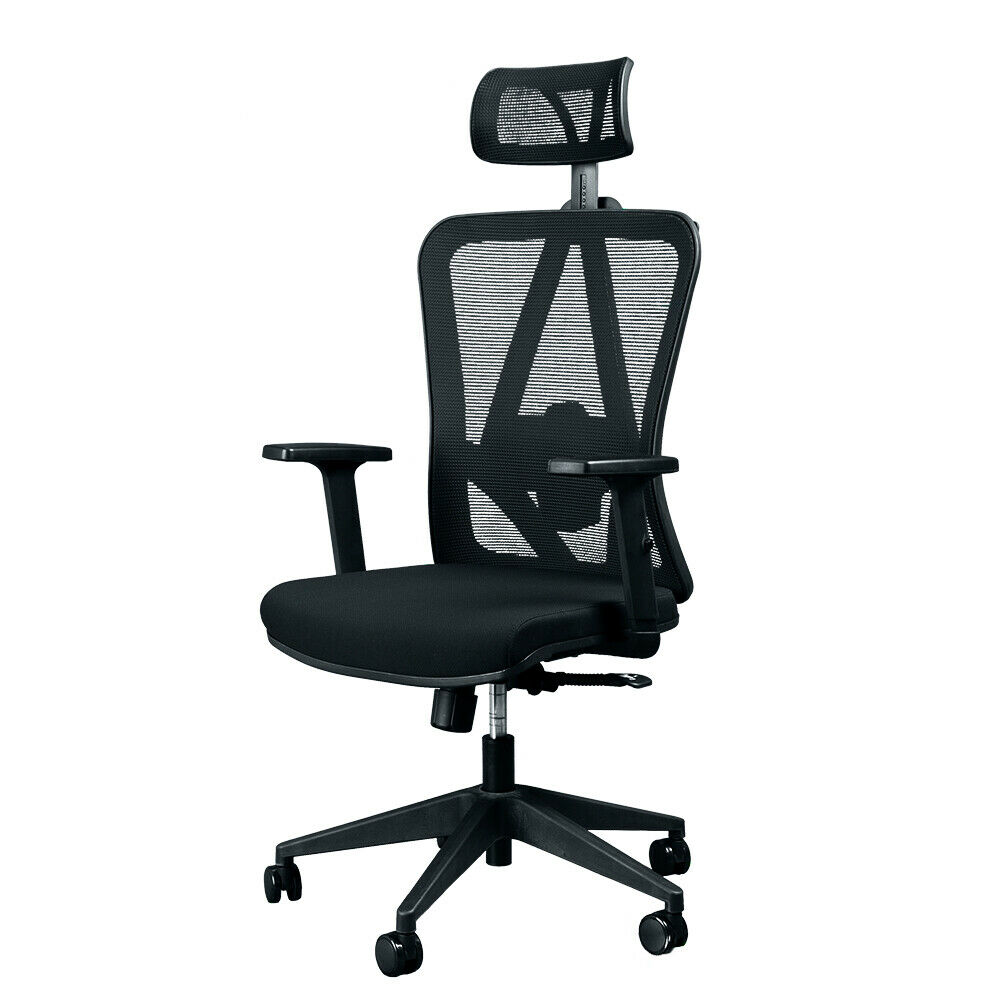 Gentil Details About Titan ERGO TI 9606P Ergonomic Mesh Rolling Desk Chair For  Office And Gaming!