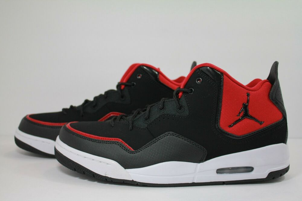 7ca520d38e12c1 NIKE JORDAN COURTSIDE 23 BLACK BLACK-GYM RED-WHITE AR1000-006