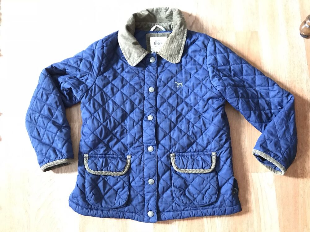 Mini Boden Quilted Jacket Size 7 8 Ebay
