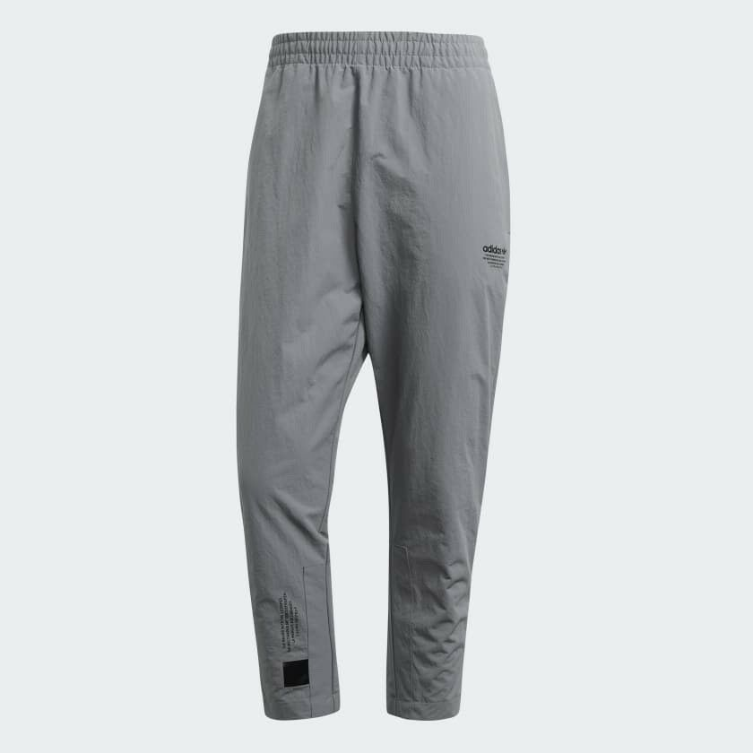 d987571570de03 Details about NEW Adidas Originals NMD 7 8 Cropped Track Pants Size Medium  GREY THREE