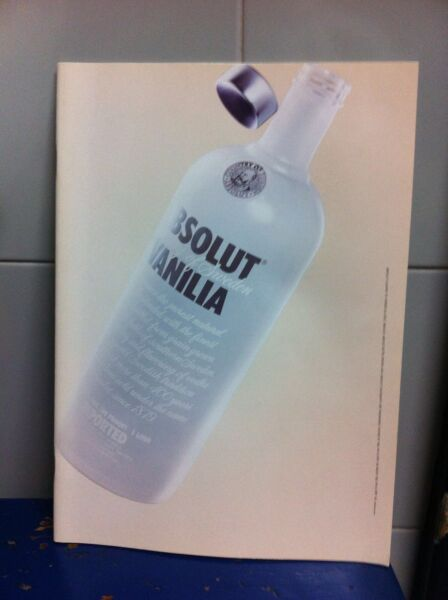 ABSOLUT VODKA VANILIA Ricettario