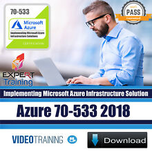 Microsoft Azure 2018 EXAM 70-533 Video Training Course DOWNLOAD