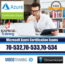 Microsoft Azure Certification Exam 70-532,70-533,70-534 Video Training DOWNLOAD