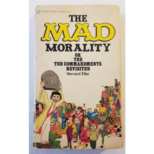 mad-magazine-paperback-book-the-mad-morality-vernard-eller-1972-2nd-print-g