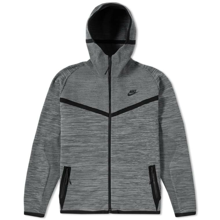 f246655aa857 Details about Nike Men s Tech Knit Windrunner Hoodie Jacket