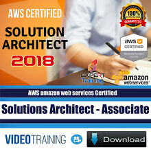 AWS Certified Solutions Architect Associate 2018 Video Training 4 Courses Pack