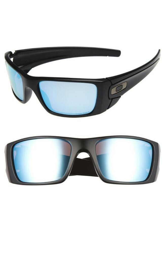 Oakley Fuel Cell Polarized >> New Oakley Fuel Cell Polarized Sunglasses Matte Black Prizm Deep H2o