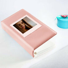 64 Pockets Photo Album Book for Fujifilm Instax Square SQ10 SQ6 SP3 Films Pink