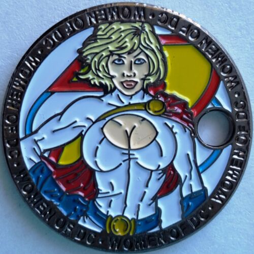 power-girl-pathtag-coin-women-of-dc-comics-series-only-100-complete-sets-made-