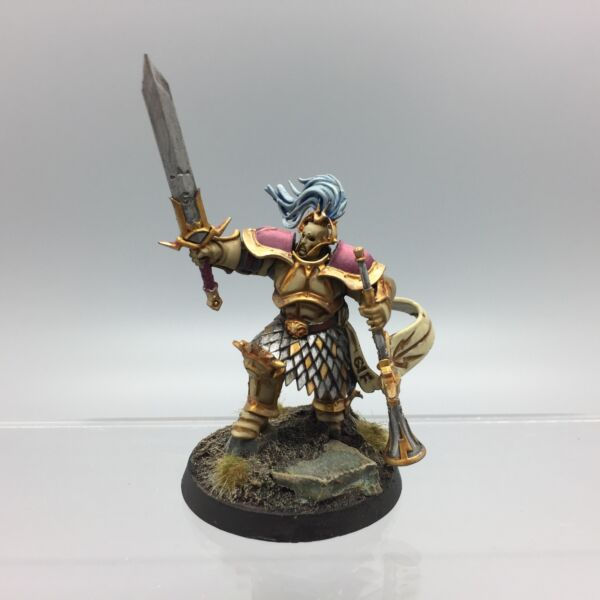 unclaimed WARHAMMER AOS CHAMPIONS Knight-Heraldor