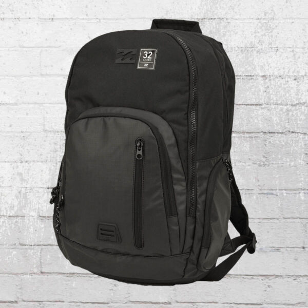 94378571b8041 Billabong Laptop Rucksack Command Pack schwarz Backpack Notebookfach