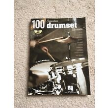 100 Essentail Drumset Lessons Book