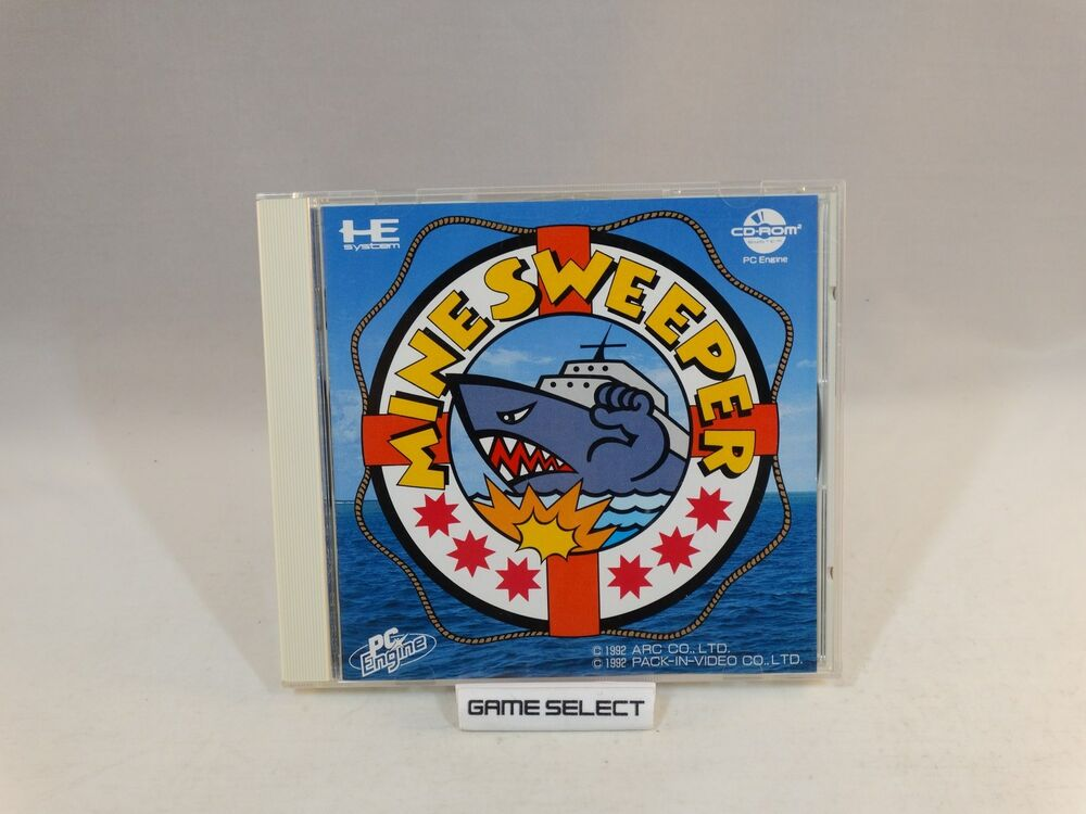 MINE SWEEPER MINESWEEPER NEC PC ENGINE CD ROM CDROM IMPORT JP JAP  GIAPPONESE | eBay