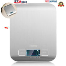 Compact Digital Kitchen Scale Diet Food Postal Mailing 5KG/11LBS x 1g Stainless