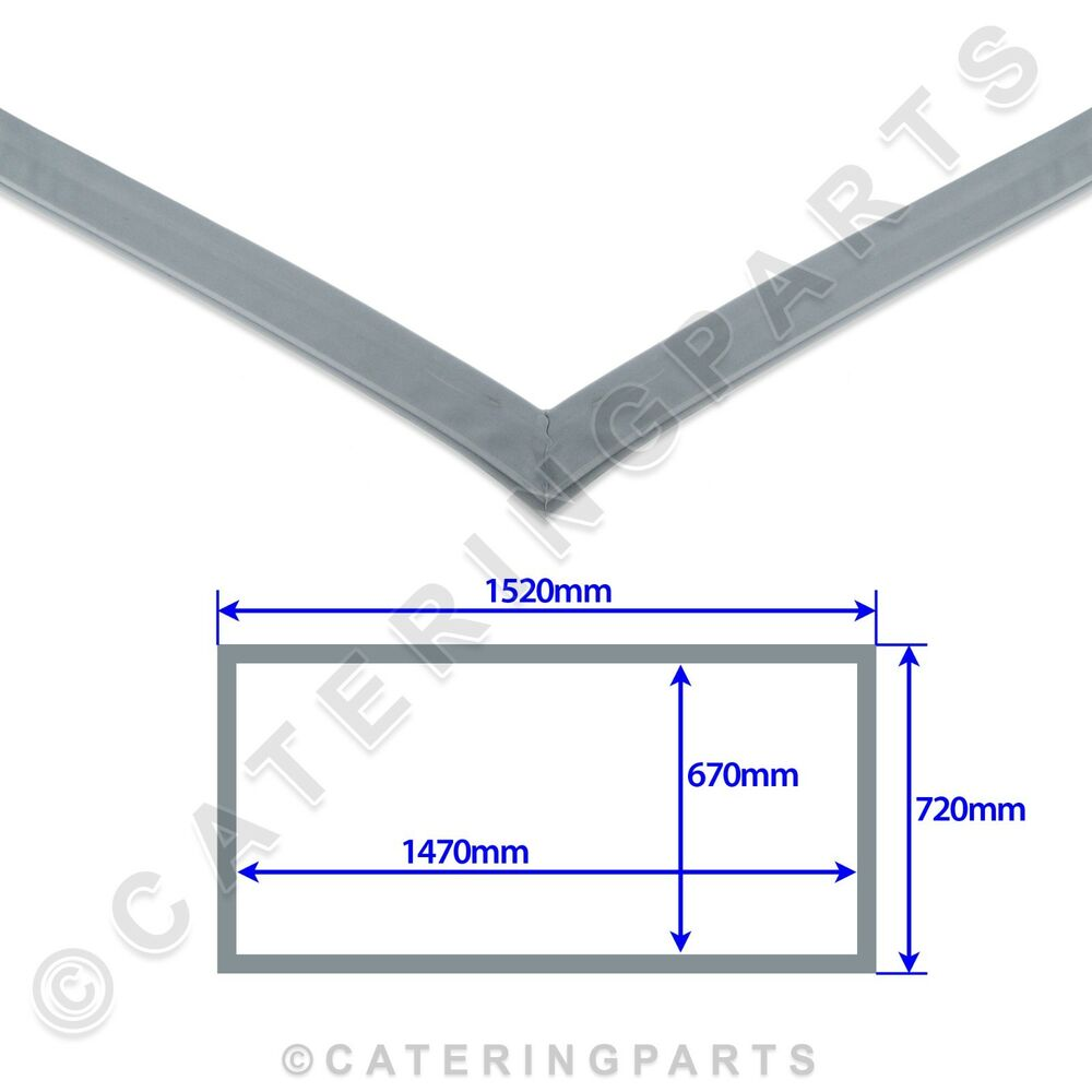 Iarp Door Gasket Seal 1520mm X 720mm Magnetic Fridge