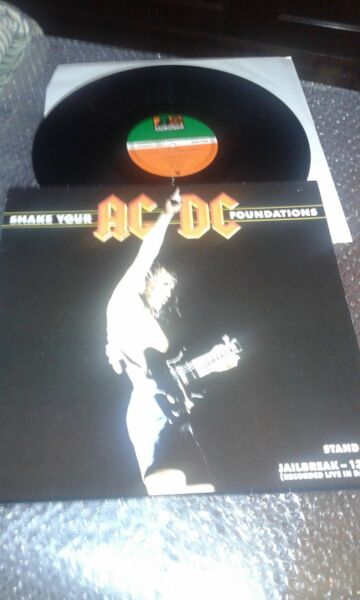 ac/dc maxi lp single shake your foundations live