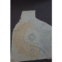 Victorian Cotton Fabric w/Unfinished Tape Lace Design- 18