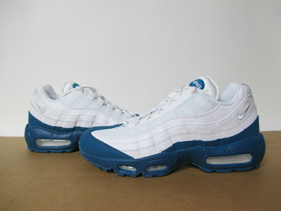 d094fcef3e Details about NIKE AIR MAX 95 WHITE GREEN ABYSS PURE PLATINUM SZ 8-13