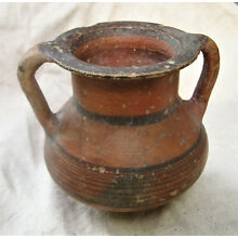 Cypriot Black on Red Ware Pottery Amphora