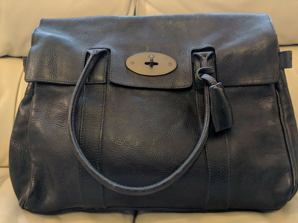 Details about BEAUTIFUL CHOCOLATE BROWN MULBERRY BAYSWATER BAG 52d59a2b0c8fd