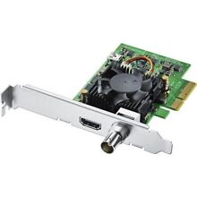 Blackmagic Design DeckLink Mini Monitor 4K PCIe Playback Card, 6G-SDI